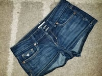 blue denim distressed short shorts Winnipeg, R2N 1G2