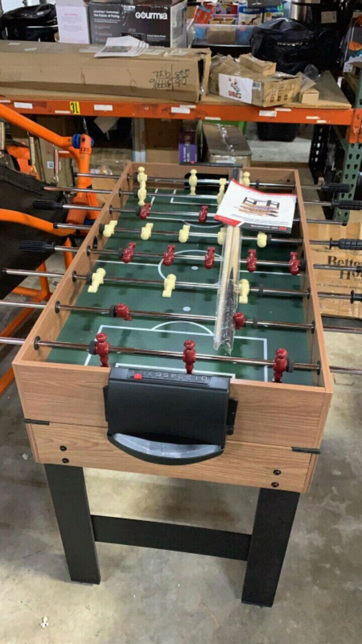 Photo MD Sports 48 Inch 3-In-1 Combo Game Table, 3 Games with Billiards, Hoc