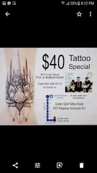 Tattooing Vancouver