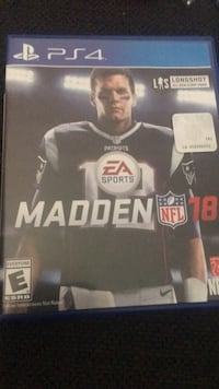 Madden nfl 18 ps4 game case Manheim, 17545