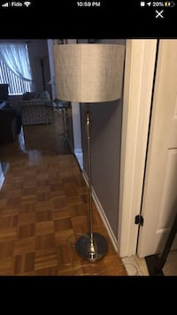 Standing lamp with shade Laval, H7W 2S7