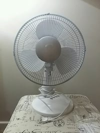 white and gray pedestal fan Edmonton, T5K 1T2