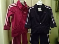 Girls size 18 months New Adidas pants outfits Easton, 18045