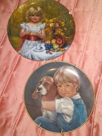 Boy and Girl plate