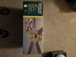 Wall Hugger ceiling fan brand new in box never ope