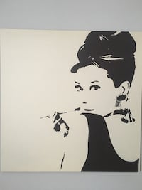 IKEA Audrey Hepburn photo canvas Toronto, M6C 2M2