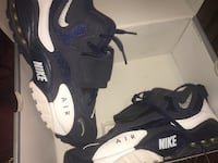 pair of black-and-white Nike Air Max shoes North Miami