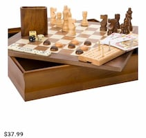 Game Board Case NEW