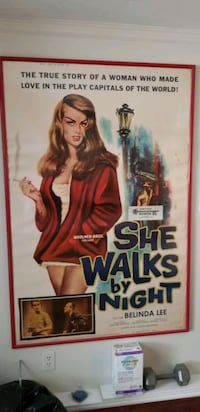 Original Bad Girl Movie Poster from 1960's