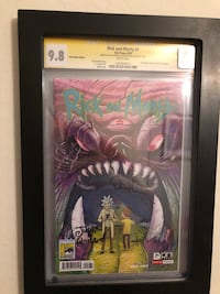 Rick and Morty #1 SDCC exclusive