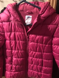 Red bubble zip-up jacket New Hope, 55427