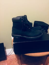 Timberlands all black size 12 Sumter, 29150
