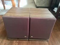 Vintage Design Acoustic DA PS-10 Pair Speakers  Silver Spring