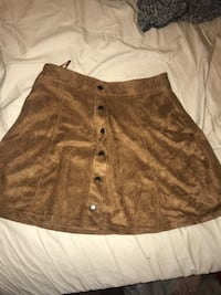women's brown suede mini skirt College Station, 77840