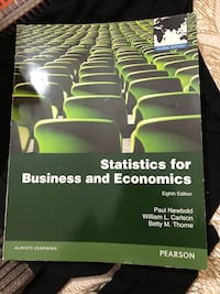 STATISTICS FOR BUSINESS AND ECONOMICS EIGHT EDITION