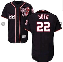 Juan Soto Washington Nationals jerseys all sizes