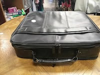 black leather suitcase Bethany, 73008