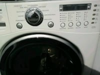 white front-load clothes washer Irving, 75038