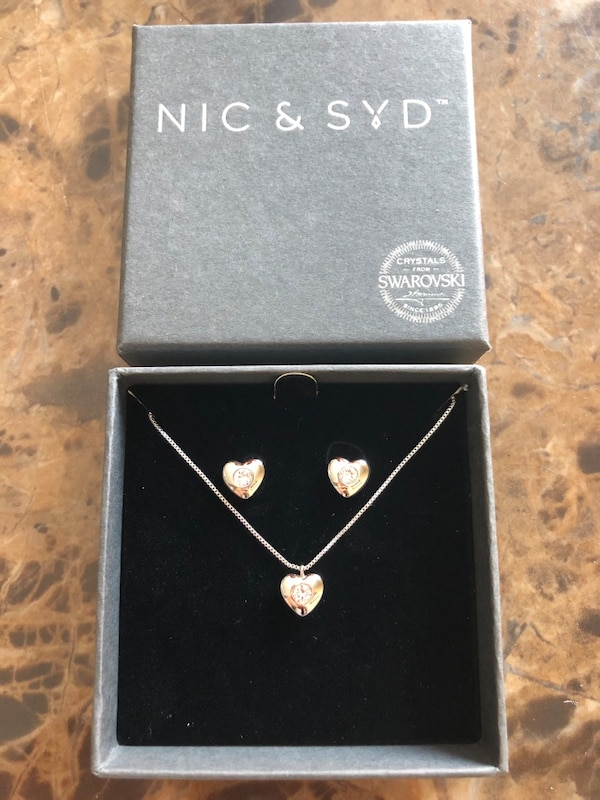 Nic & Syd - Jewelry Set - Sterling Silver f83fea62-68a3-44c0-af45-31dce03568f3