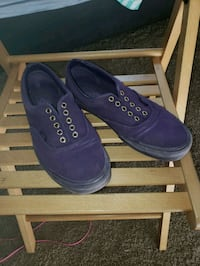 Purple Van's with gold eyelets Yelm, 98597