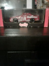 red Budweiser 11 stock car scale model