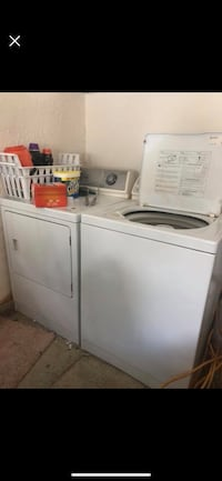 white top-load clothes washer and dryer set New Port Richey, 34655