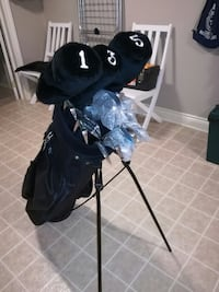 Golf clubs with 2 sets of irons WOODBRIDGE