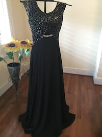 Black formal gown/prom Frederick