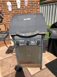 Black and gray gas grill Midland, 79707