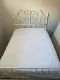 Dbl size bed, mattress has some wear on the side Calgary, T2B 0Y1
