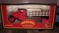 VINTAGE 1930 ANHEUSER BUSCH DELIVERY TRUCK BANK DIE CAST NEW NEVER OPENED Littlestown, 17340