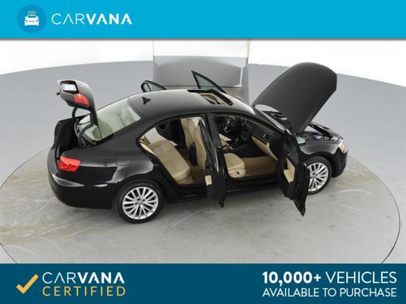 2014 VW Volkswagen Jetta sedan 2.0L TDI Sedan 4D Black <br /> 14
