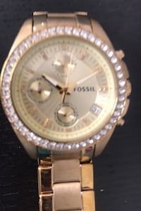 Women's Fossil Watch-Gold Catonsville, 21228