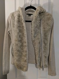 Armani Exchange faux fur hoodie Size Small  23 km