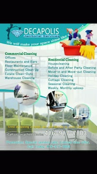 House cleaning Brampton, L6T 5A2
