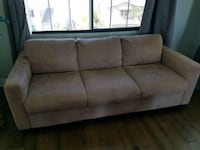 Microfiber sofa and chair in great condition.  Santee, 92071