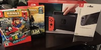Black nintendo switch with box Barrie, L4M