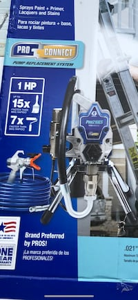 Graco Pro 210ES true airless paint sprayer commercial series
