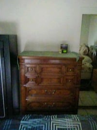 brown wooden dresser with mirror Oakdale, 95361