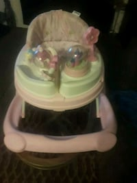 baby's white and  pink walker Terrytown, 70056