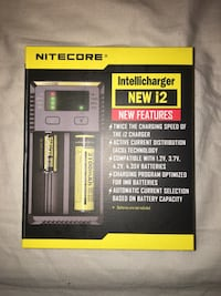 Nitecore battery charger with box Mowbray, 37379