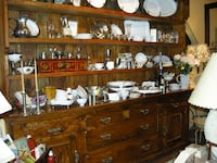 Magnificent Extra Large Teak Hutch