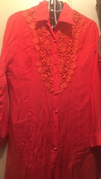 Size L long blouse with long sleeves Toronto, M9W 3X1