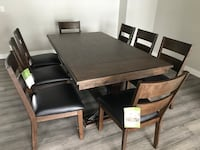 Brand New-Solid Wood Dining Set 9 pieces Calgary, T2A 4H7