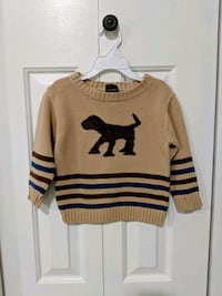 Boys Sweater by T.F. Lawrence; size 4T 26 km