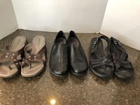 Lot of 3 Women's Shoes Size 9 Merrill, G.H. Bass $9 for all Manassas