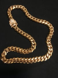 Cuban Link Gold Chain  26 mi