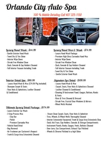 Mobile Detailing Kissimmee