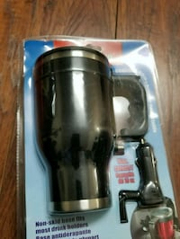 black and silver travel mug pack car charger Dartmouth
