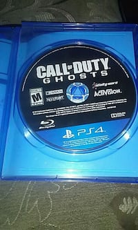 Ps4 game CALL OF DUTY.  GHOSTS Regina, S4P 0Z2
